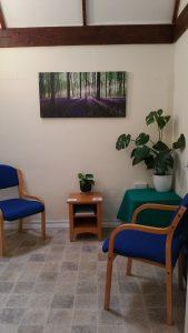 Consulting therapy room in Seale, Farnham, Surrey