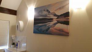 Treatment room in Seale Natural Health, Farnham, Surrey GU10